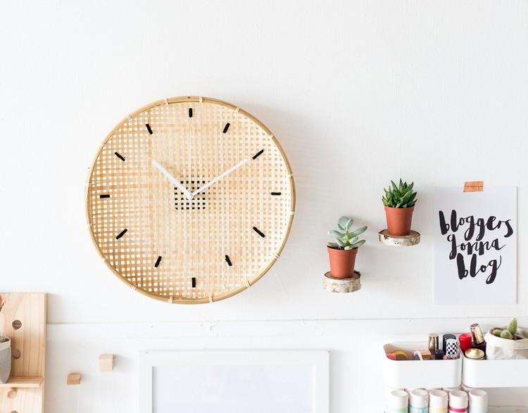 Diy Wanduhr  Kreative Wanduhr selber machen 9 einfache DIY Ideen mit