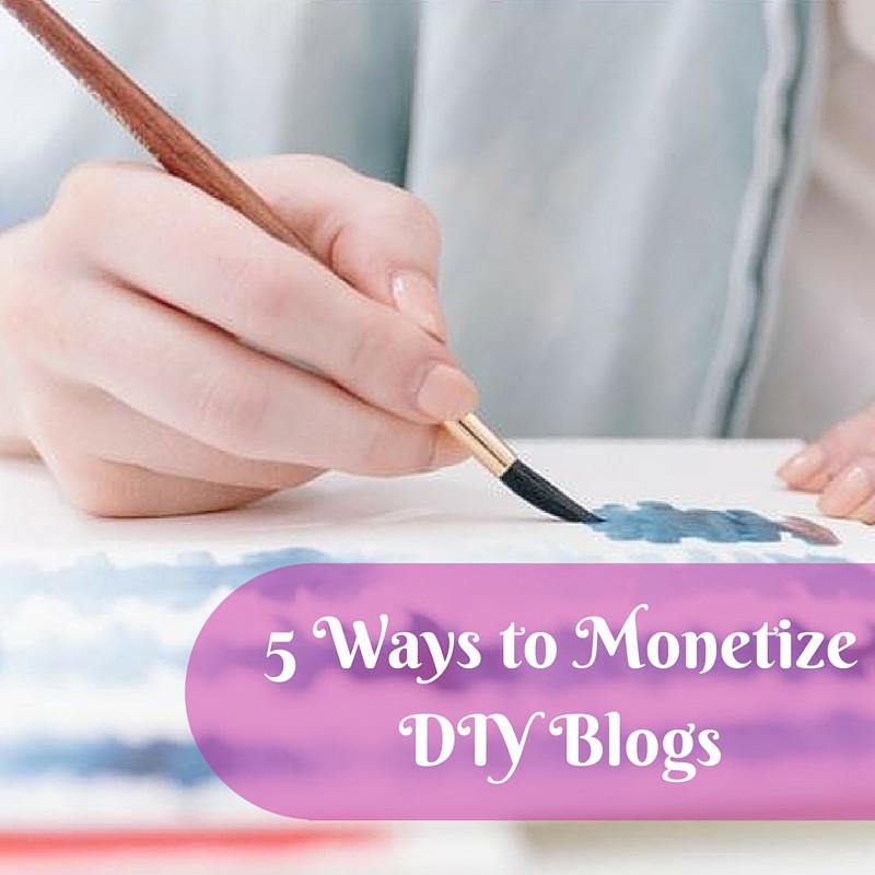 Diy Websites  5 Ways to Monetize DIY Sites and Blogs MonetizeMore