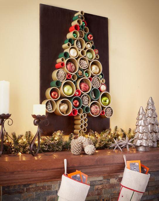 Diy Weihnachtsbaum  Tolle Alternativen zum klassischen Christbaum 13 DIY
