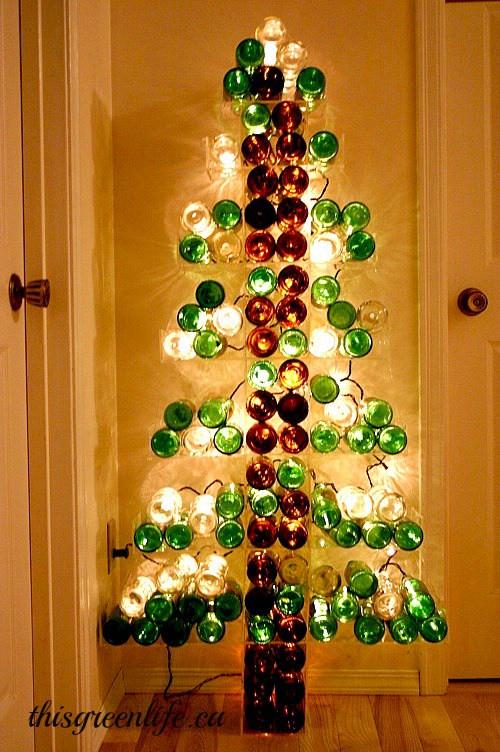 Diy Weihnachtsbaum  25 ideenreiche DIY Weihnachtsbaum Bastelideen