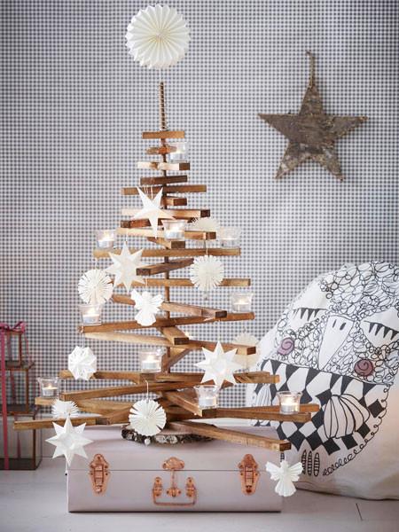 Diy Weihnachtsbaum  DIY Idee Weihnachtsbaum selbermachen
