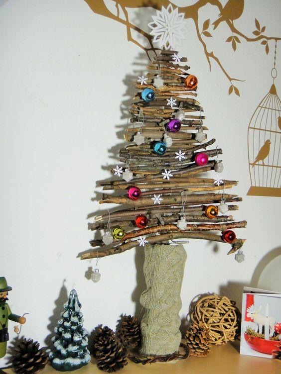Diy Weihnachtsbaum  Weihnachten Deko and DIY and crafts on Pinterest