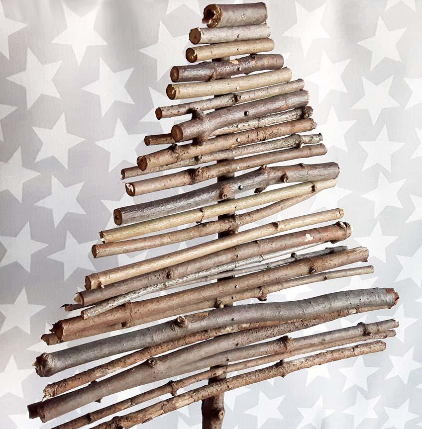 Diy Weihnachtsbaum  DIY Weihnachtsbaum aus Holz nadelfrei und selbstgemacht