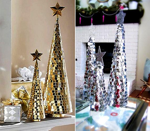 Diy Weihnachtsbaum  Weihnachtlich dekorieren mit DIY Weihnachtsbäumen fresHouse