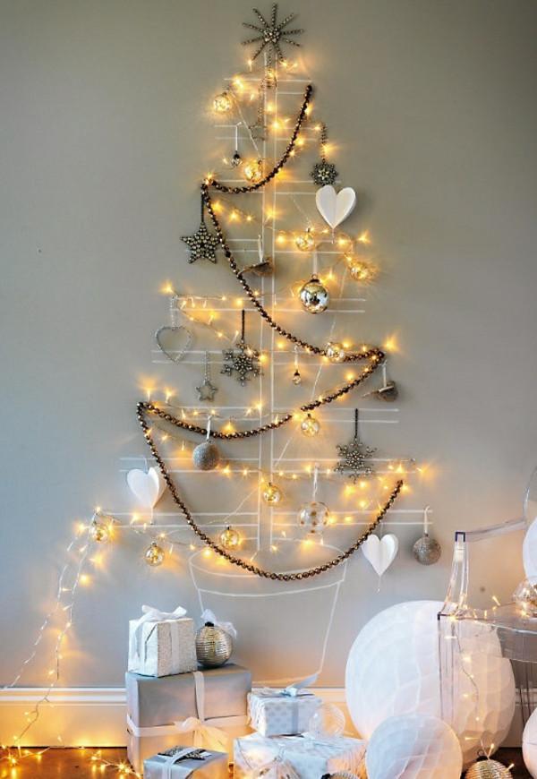 Diy Weihnachtsbaum  Weihnachtsbaum basteln 24 unglaublich kreative DIY Ideen