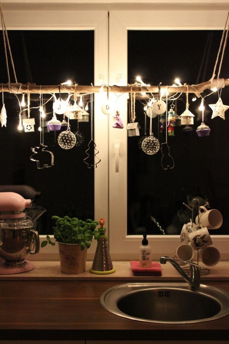 Diy Weihnachtsdeko Fenster  Fensterdeko zu Weihnachten basteln charmante DIY Ideen