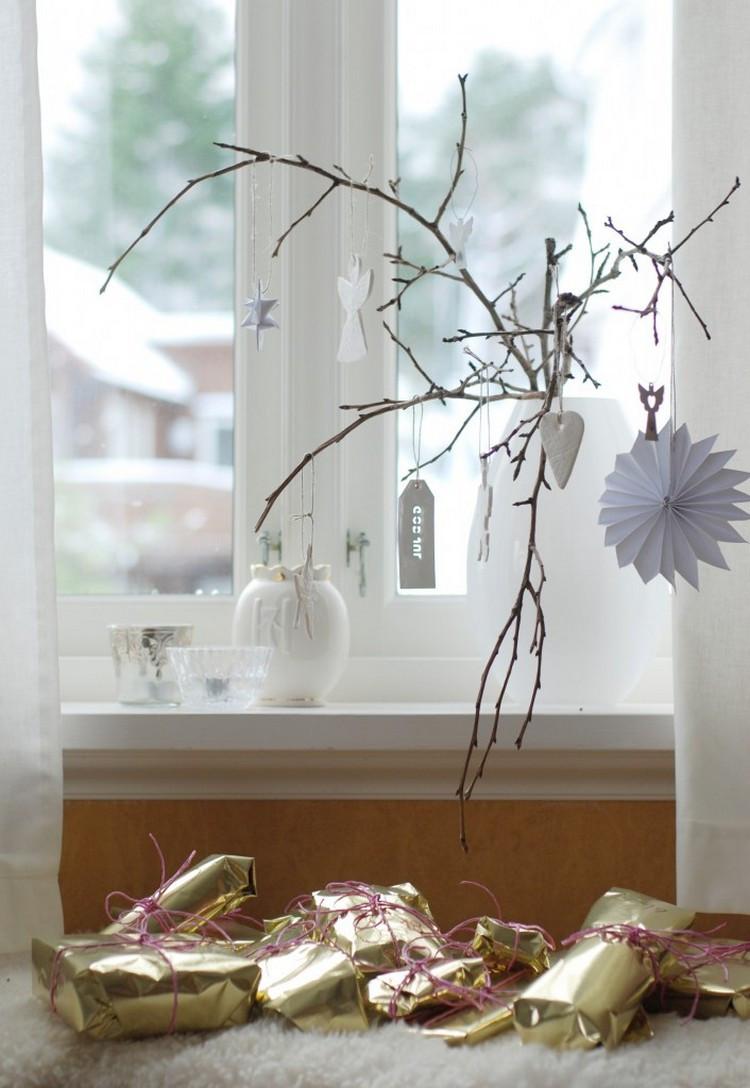 Diy Weihnachtsdeko Fenster  Weihnachtsdeko für Fenster basteln 20 Ideen und Beispiele