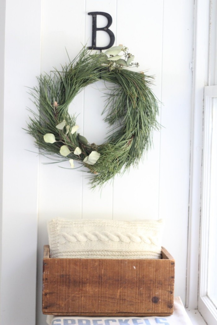 Diy Weihnachtsdeko Fenster  Rustikale Weihnachtsdeko selber machen Inspiration für
