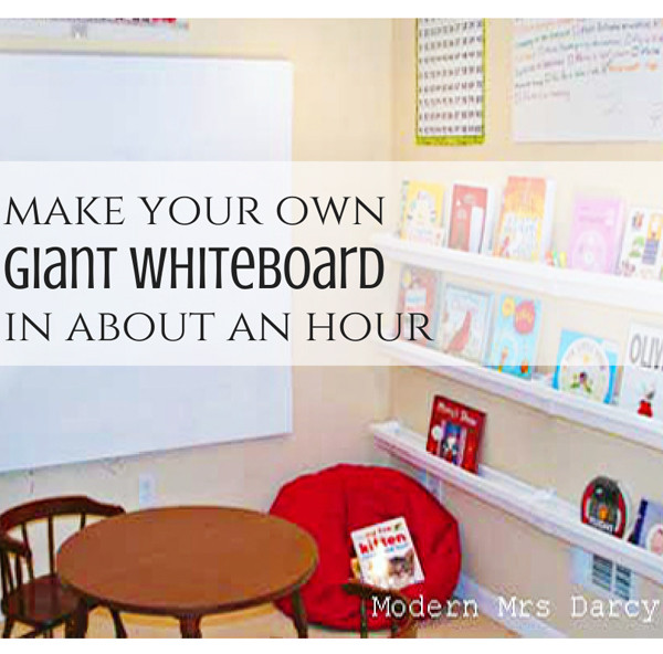 Diy Whiteboard  Change Your Physical World Change Your Life With Cheap