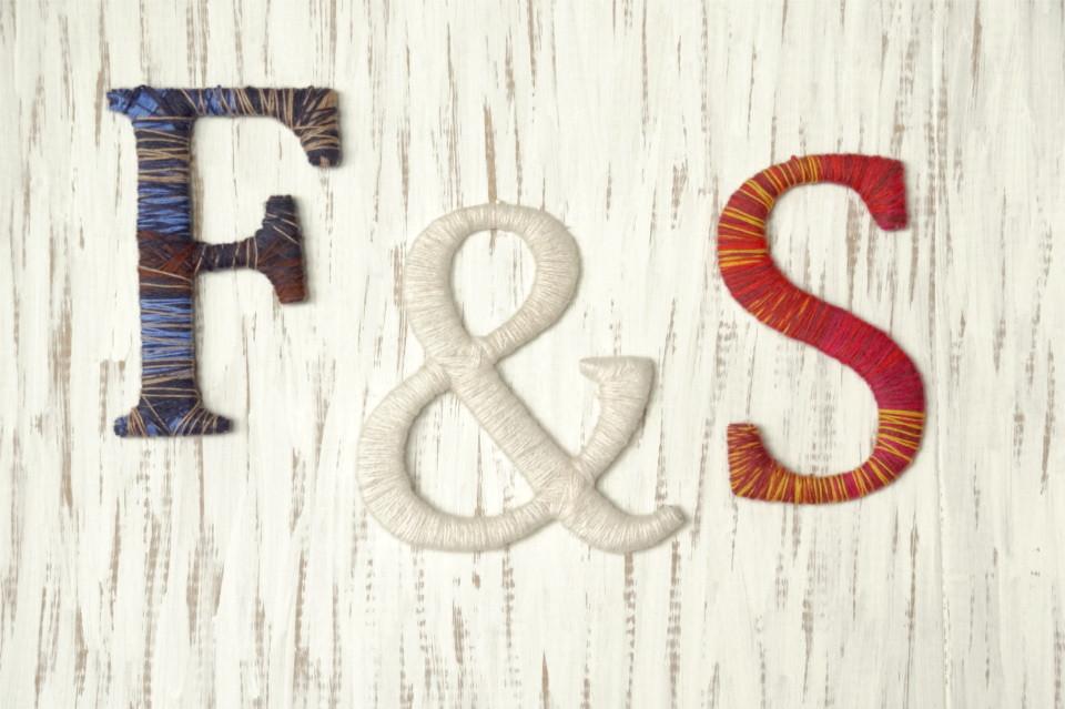 Diy Wolle  Steffi s Hochzeitsblog DIY Mit Wolle gepimpte Pappbuchstaben