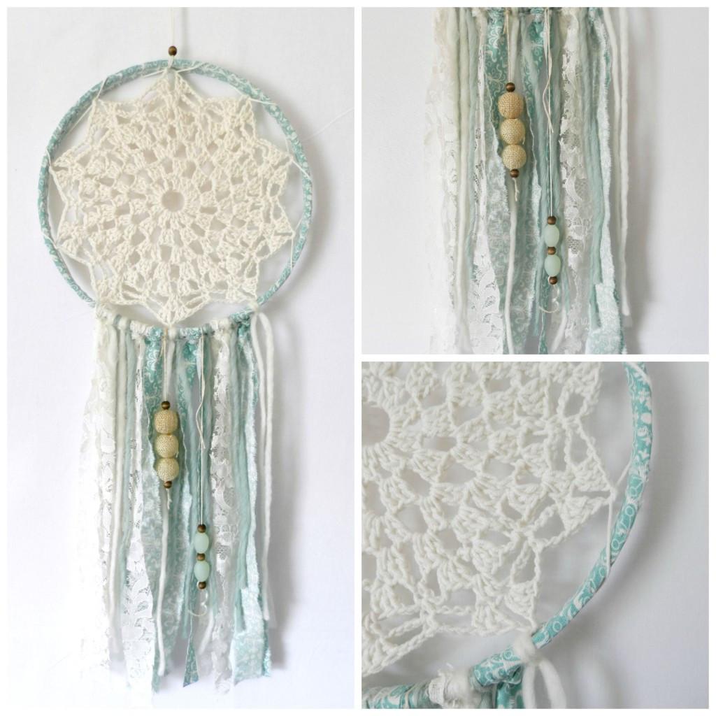 Dreamcatcher Diy  DIY Crochet Dream Catcher