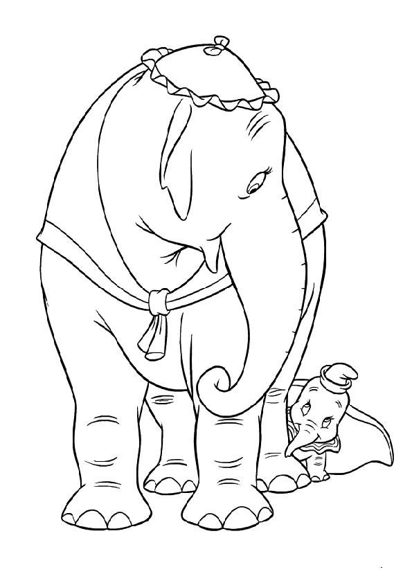 Dumbo Ausmalbilder  Ausmalbilder Dumbo 14