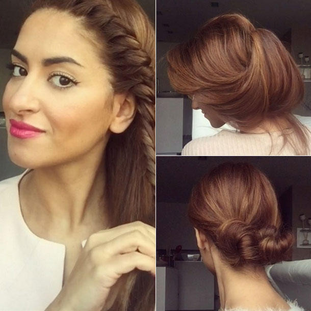 Easy Frisuren  Beauty Bloggerin Sarah Angius Frisuren neidisch
