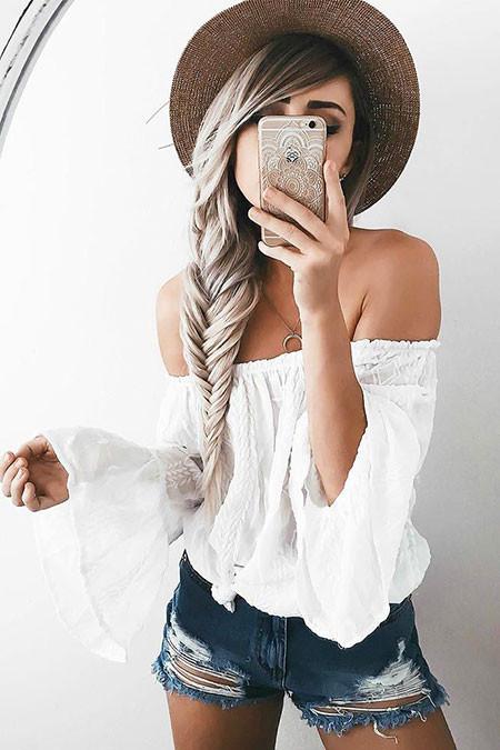Einfache Frisuren Für Langes Haar  23 einfache Frisuren für langes Haar Frisuren 2018 Neue