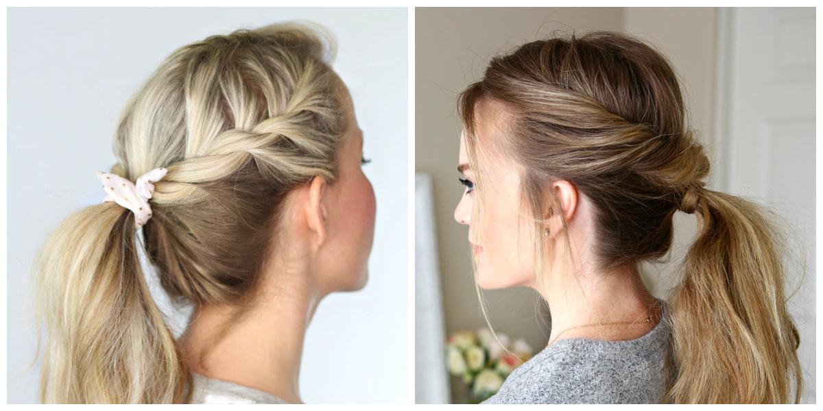 Einfache Frisuren Für Langes Haar  Einfache Hochsteckfrisuren für langes Haar 11 modische