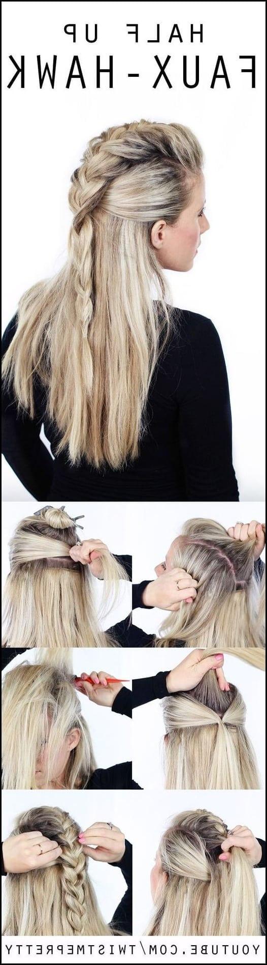 Einfache Frisuren Für Langes Haar  10 Einfache Stilvolle Geflochtene Frisuren für Lange Haare