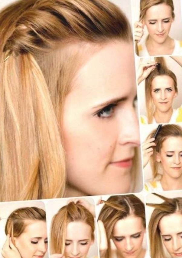 Einfache Frisuren Für Langes Haar  Einfache Frisuren Mittellanges Haar ask fo