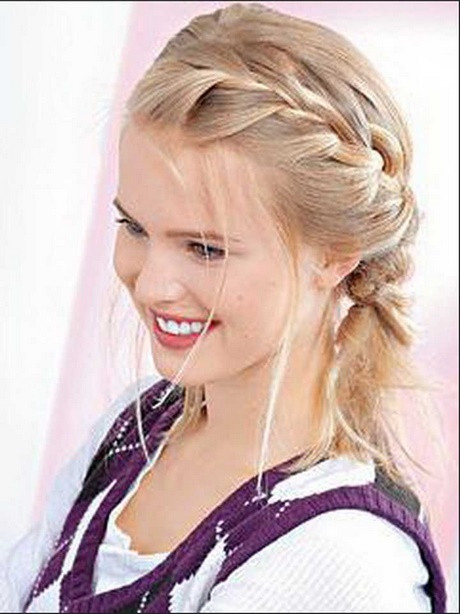 beste 20 einfache frisuren für mittellanges haar - beste