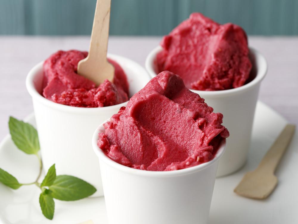 Eis.De Geschenke  Diätrezept Leichtes Himbeer Joghurt Eis