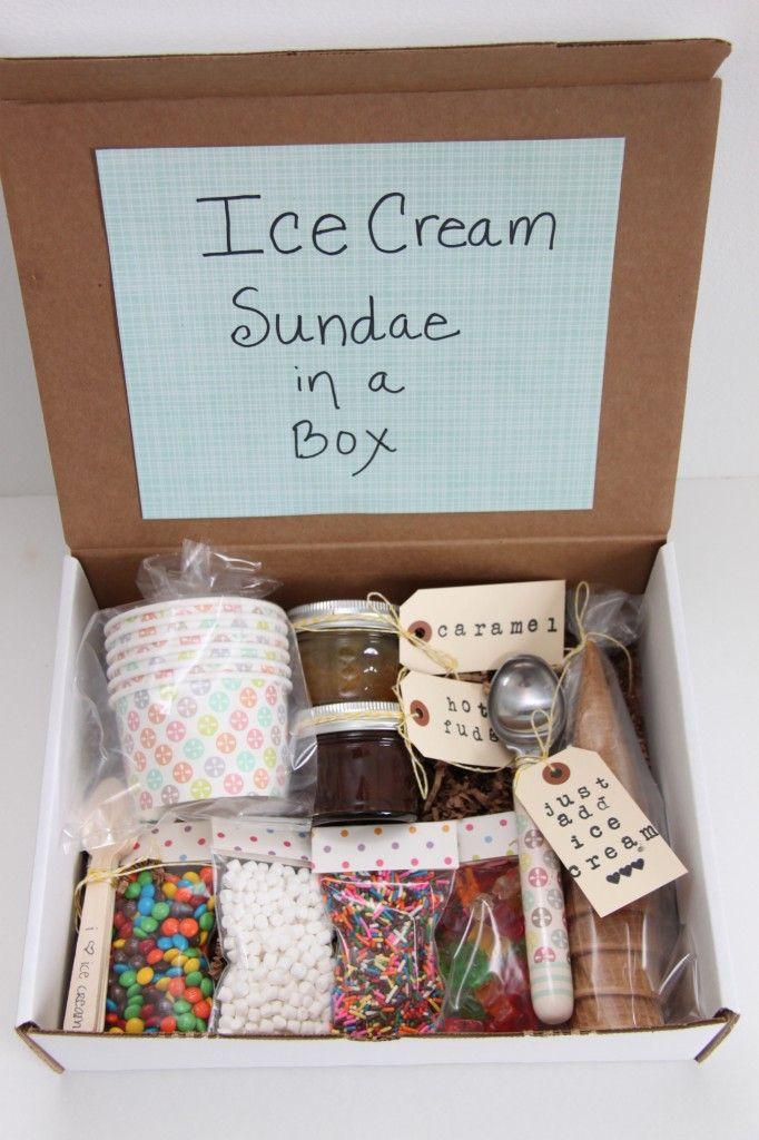 Eis.De Geschenke  Ice Cream Sundae in a Box Gift Idea