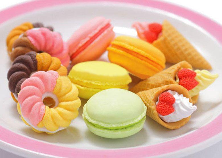 Eis.De Geschenke  Valentinstag Geschenke französisch Dessert Eis Kreis Brot