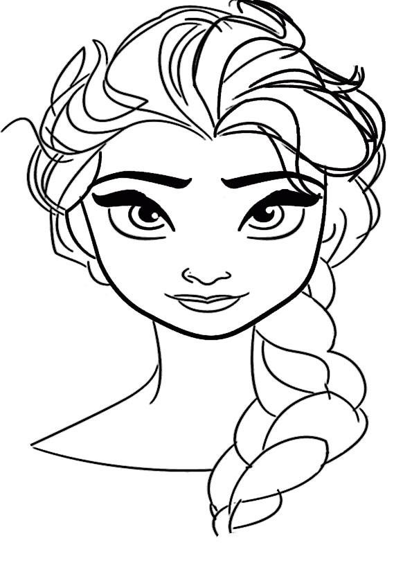 Eiskönigin Elsa Ausmalbilder  Elsa 3