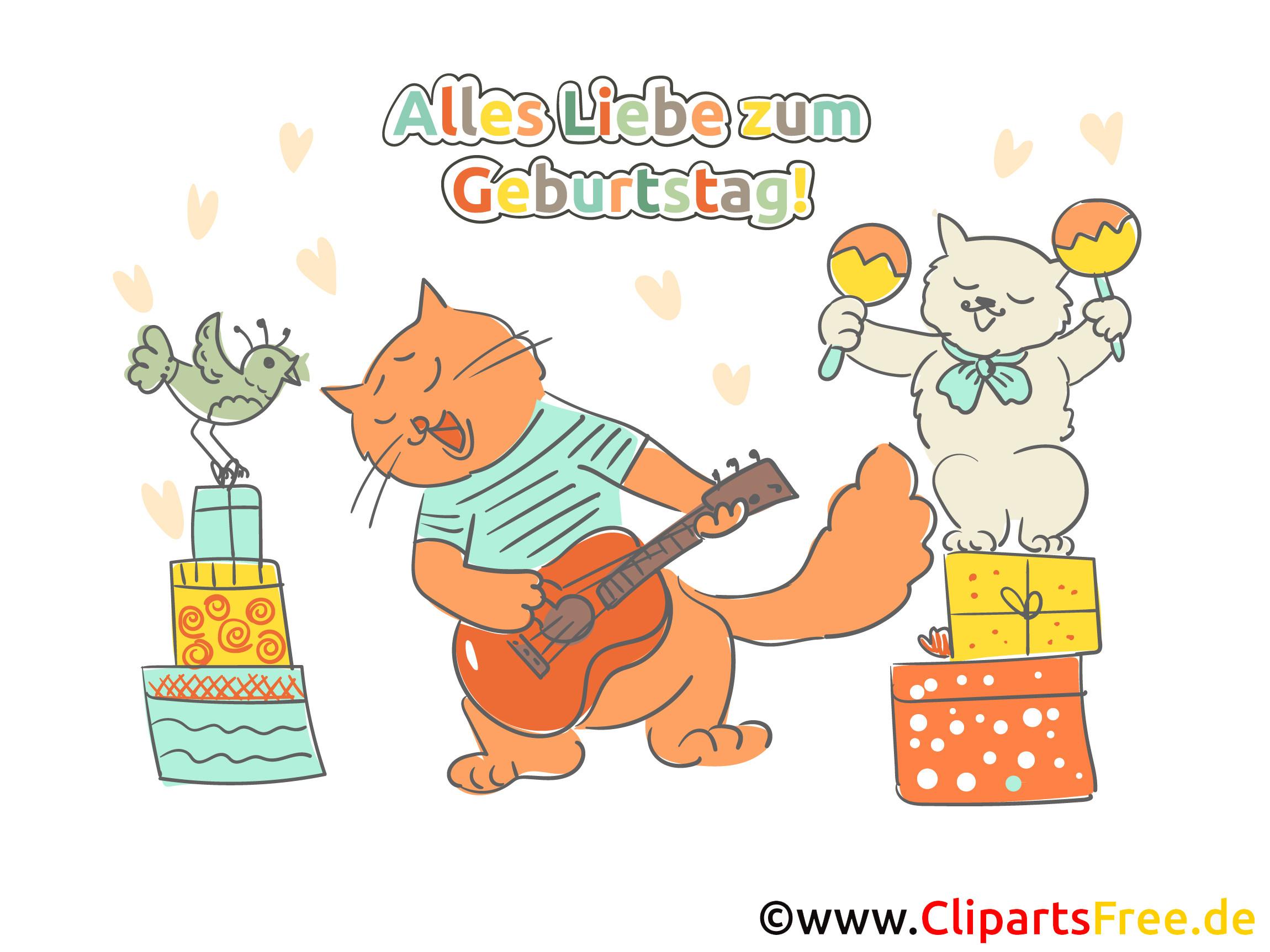 Elektronische Geburtstagskarten  Elektronische Grusskarte zum Geburtstag kostenlos