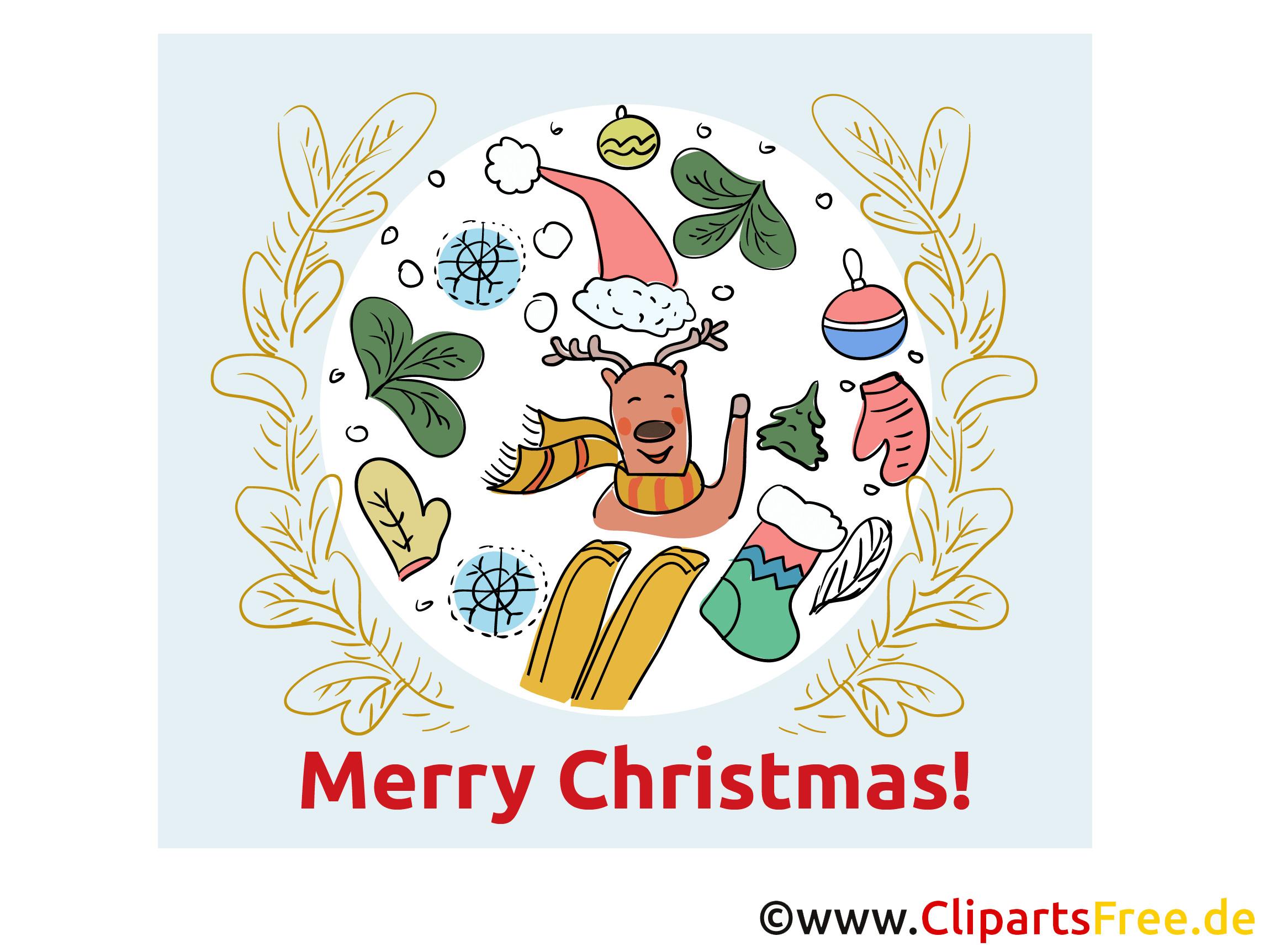 Elektronische Geburtstagskarten  Weihnachten kostenlose elektronische Grußkarte Merry