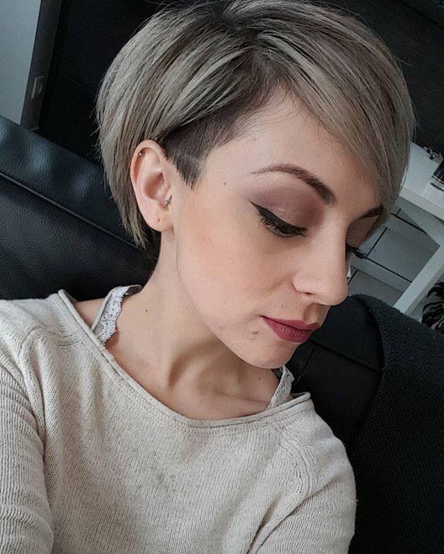 Elkes Haarschnitt  44 besten kurzhaarfrisuren blond grau Bilder auf Pinterest