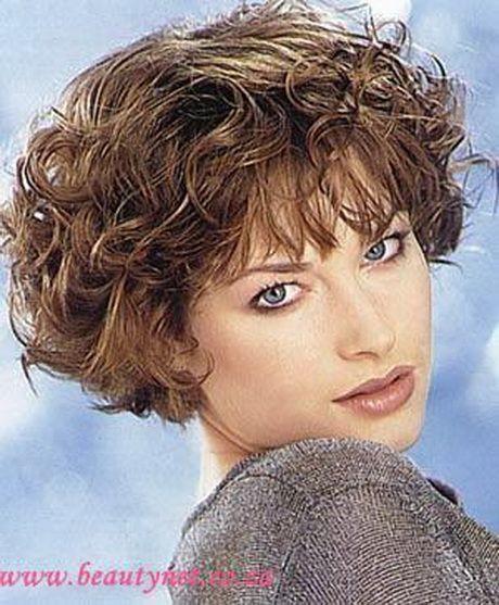 Elkes Haarschnitt  Dauerwelle kurze haare