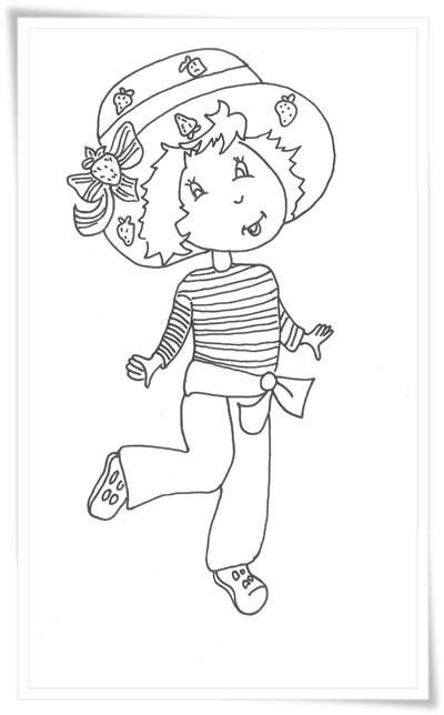 Emily Erdbeer Ausmalbilder  Emily Erdbeer Ausmalbilder