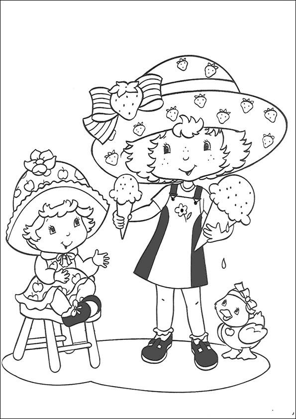 Emily Erdbeer Ausmalbilder  Ausmalbilder Emily Erdbeer Malvorlagen Emily Erdbeer Zum