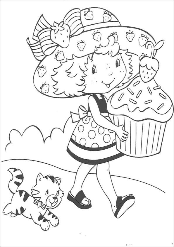 Emily Erdbeer Ausmalbilder  Ausmalbilder Emily Erdbeer 8