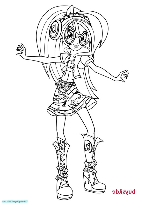 Equestria Girls Ausmalbilder  Equestria Girls Rainbow Rocks Coloring Pages ZU9X My