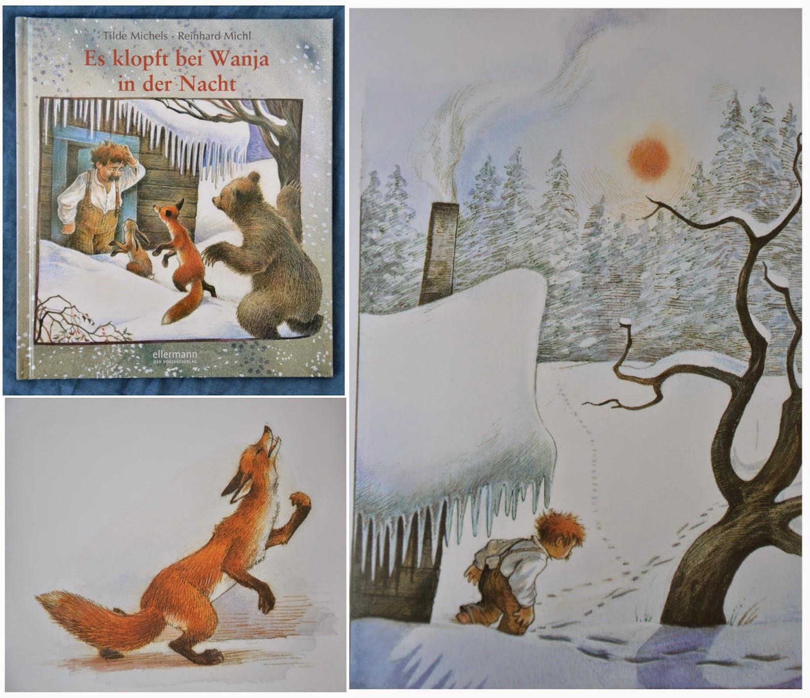 Es Klopft Bei Wanja In Der Nacht Ausmalbilder  Unser Blick ins Bücherregal Winterkinderbücher