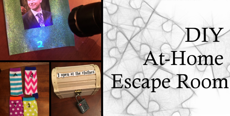 Escape Room Diy  Sara Miles Cakes crafts and other observations