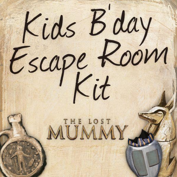 Escape Room Diy  DIY Home Escape Room Download & Print The Kit