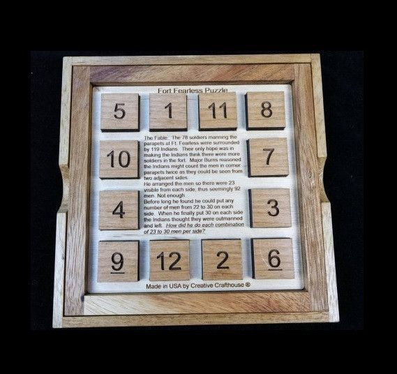 Escape Room Diy  Fort Fearless Math and Logic Puzzle for Escape Rooms