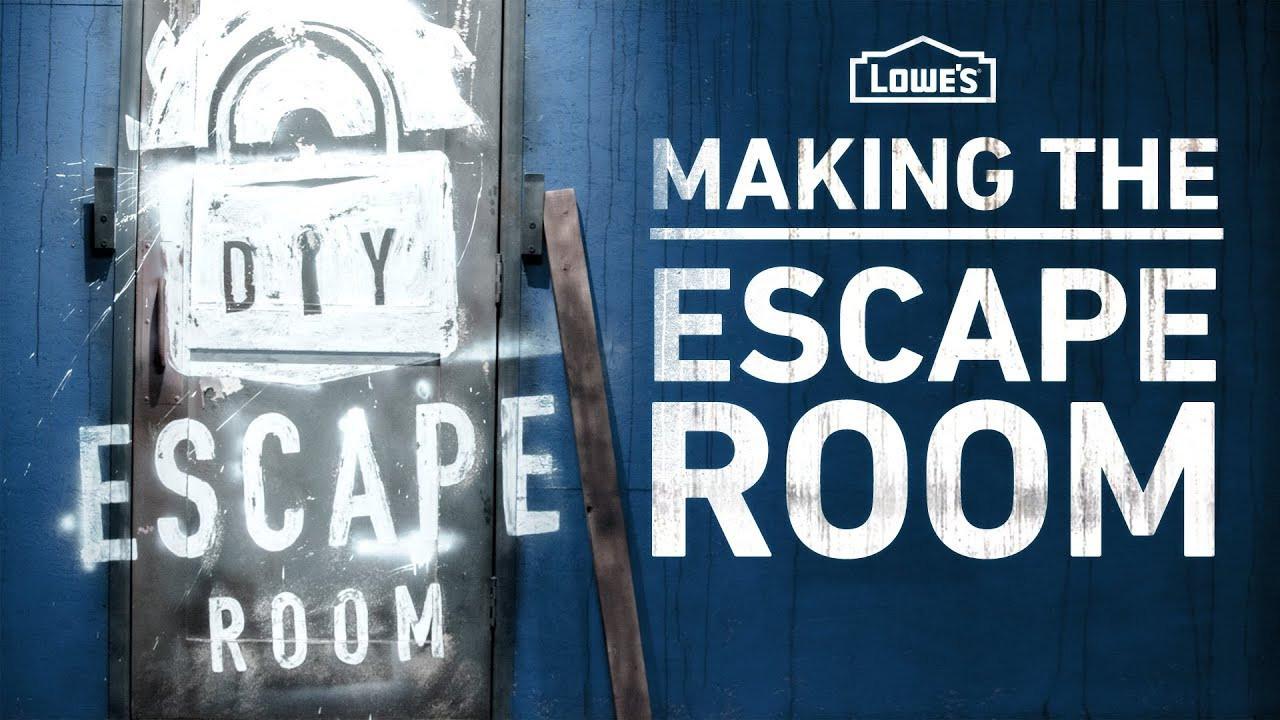 Escape Room Diy  Making the DIY Escape Room Behind the Scenes