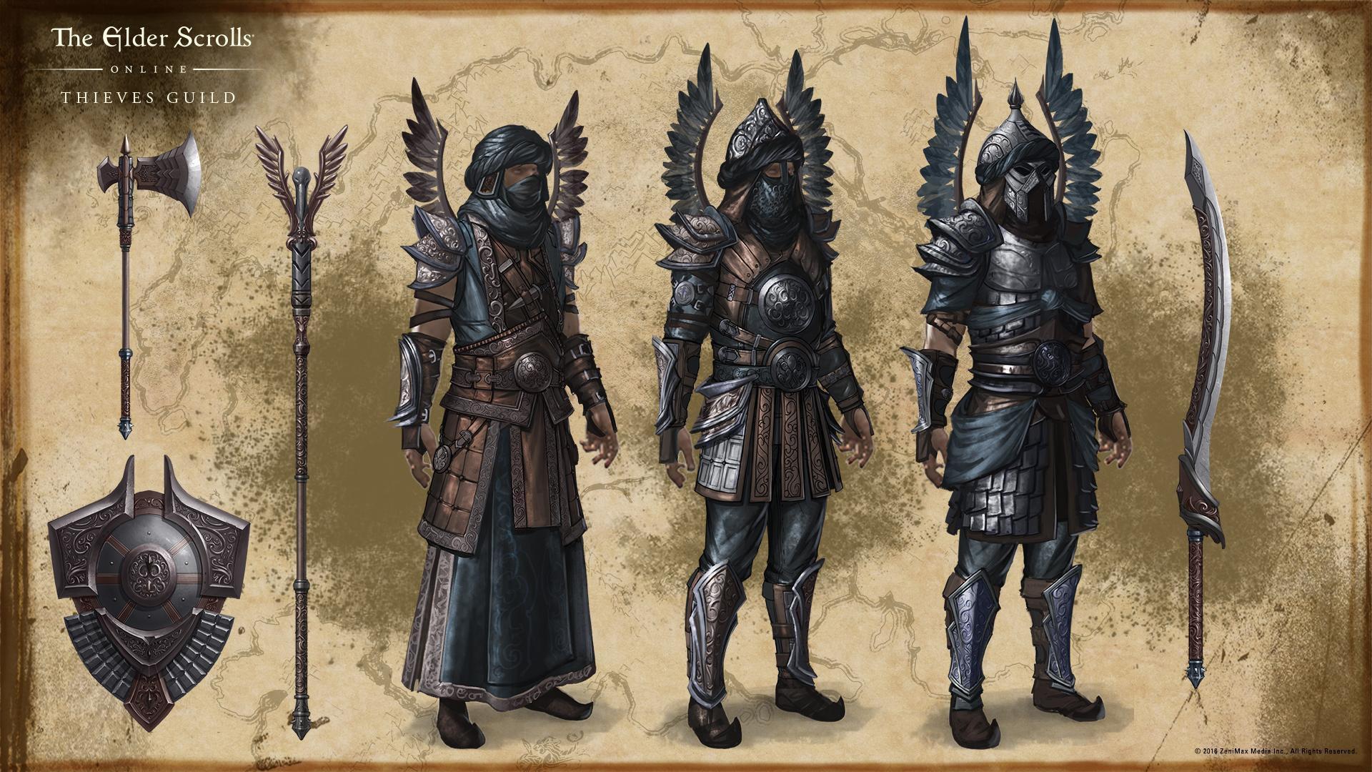 Eso Handwerk Stile  Concept Arts The Elder Scrolls line