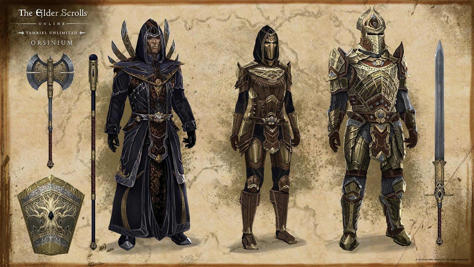 Eso Handwerk Stile  Orsinium Dwemer armor elderscrollsonline