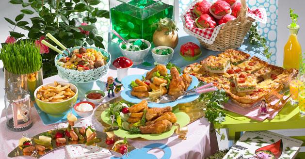 Essen Für Geburtstagsfeier  Ein Märchenbuffet für den Kindergeburtstag