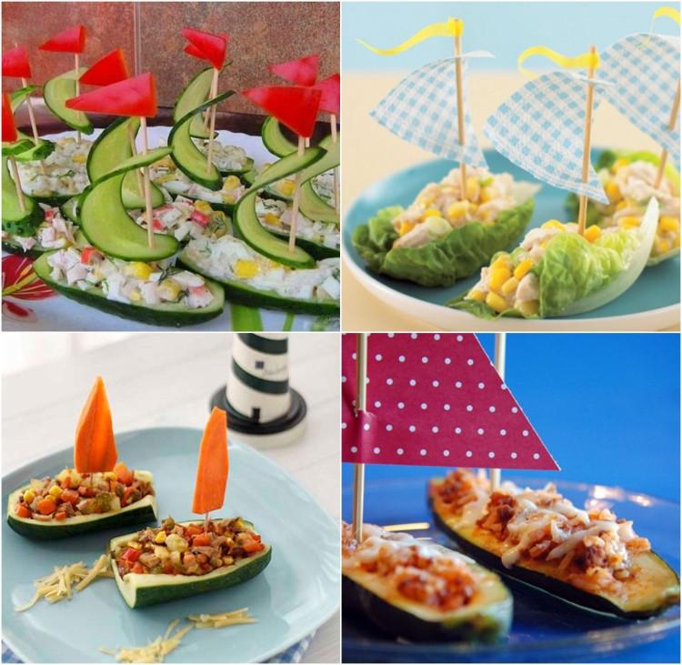 Essen Für Geburtstagsfeier  Gemüse für Kindergeburtstag Rezepte Ideen und Garnituren