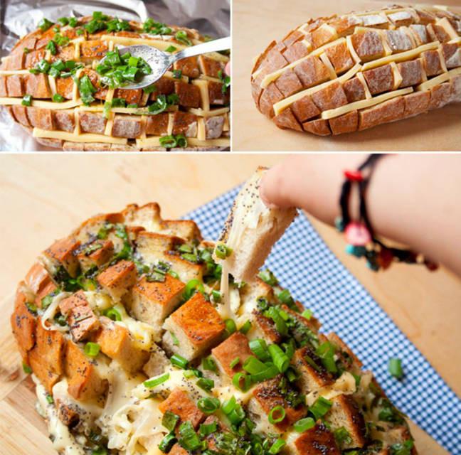 Essen Für Geburtstagsfeier  Party Essen Der Party Käse Brotigel für 20 Personen