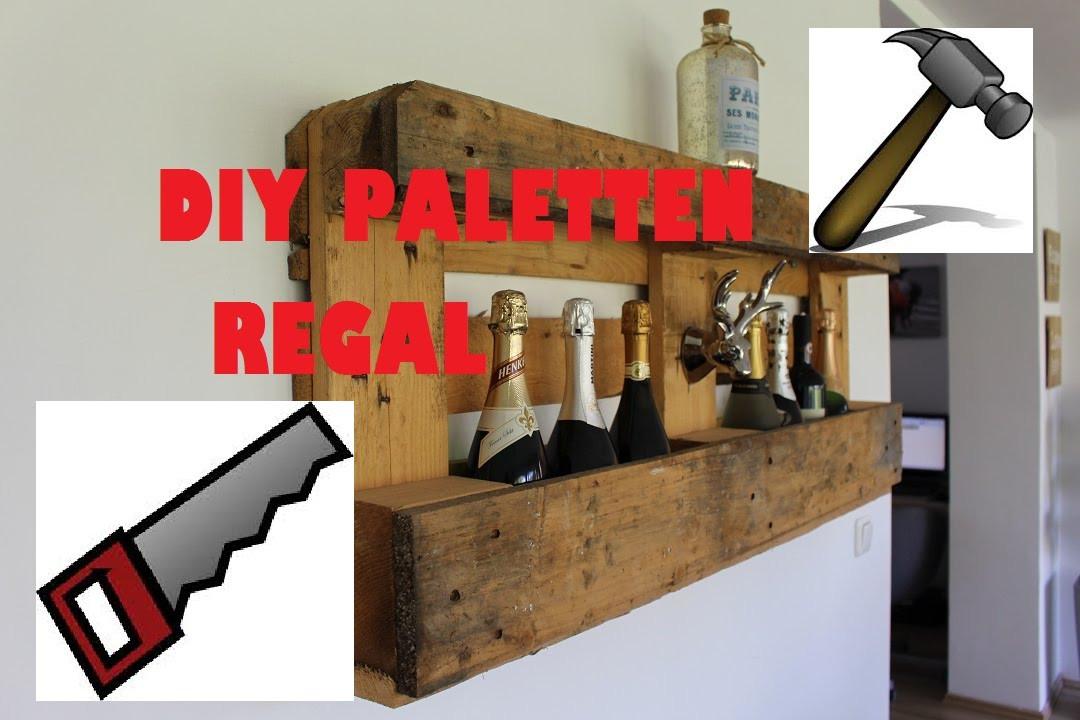 Europalette Diy  DIY Wein Schuh Regal aus einer Europalette
