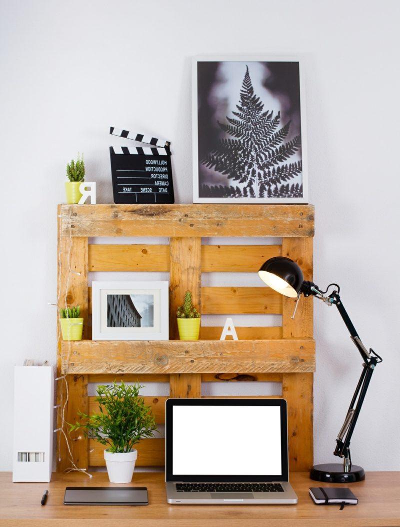 Europalette Diy  100 Europalette Regal Bauen Bilder Ideen