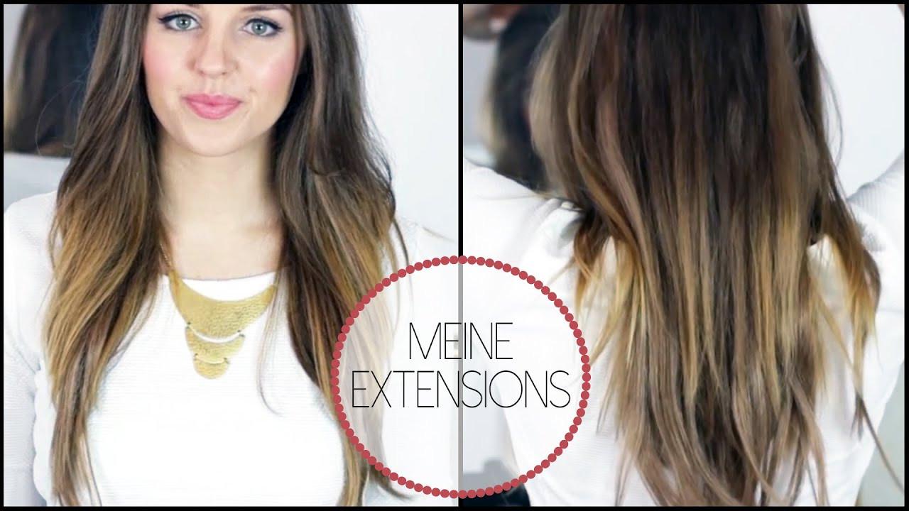 Extensions Frisuren  Extensions Erfahrungen