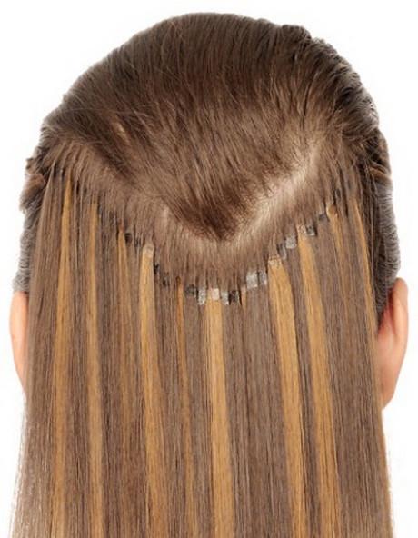 Extensions Frisuren  Frisuren mit extensions