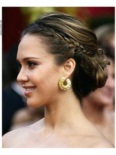 Festliche Frisuren Halblange Haare  Hochsteckfrisuren mittellanges haar
