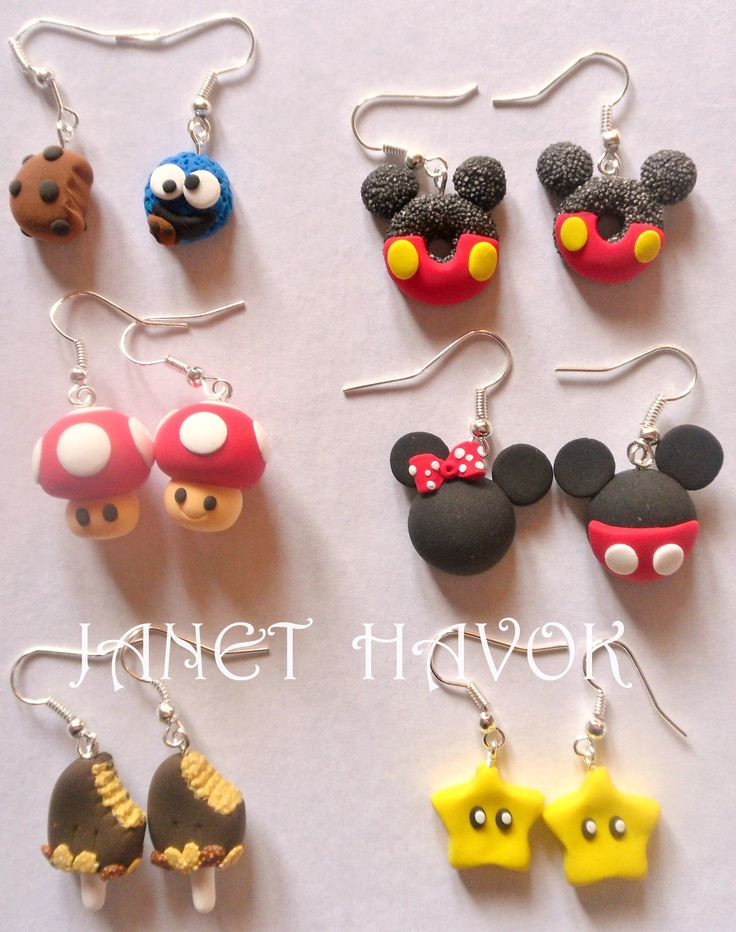 Fimo Diy  1308 best fimo earrings images on Pinterest